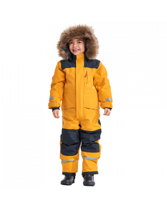 Didriksons Bjornen Kids Snowsuit - Mellow Yellow