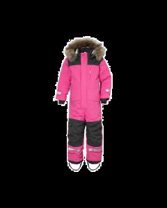 Didriksons Polar Bjornen Extra Warm Kids Snowsuit - Plastic Pink