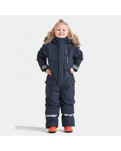 Didriksons Polar Bjornen Extra Warm Kids Snowsuit - Navy