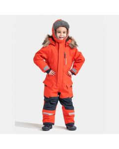 Didriksons Polar Bjornen Extra Warm Snowsuit - Poppy Red