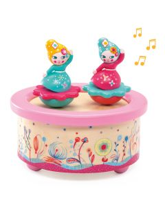 Djeco Magnetic Musical Box - Flower Melody