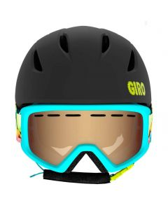 Giro Launch Combo Helmet & Goggle Set, Black Sweet Tooth