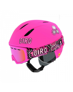 Giro Launch Ski Helmet & Goggle Combo Set, Pink Psych Blossom - save 35%