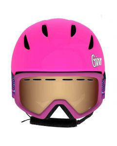 Giro Launch Helmet & Goggle Combo Set, Pink Psych Blossom