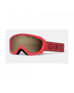 Giro Rev Ski Goggles, Red/Black Zoom  - 8 yrs +
