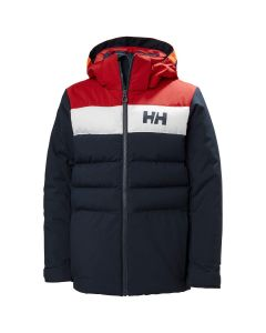 Helly Hansen Youth Boys Cyclone Ski Jacket - Navy