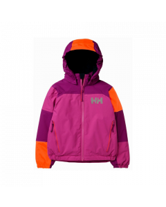 Helly Hansen Kids Rider 2 Insulated Ski Jacket Dragonfruit - save 40%