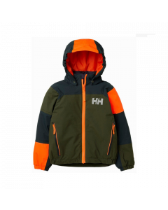 Helly Hansen Kids Rider 2 Insulated Ski Jacket Forest Night - save 40%