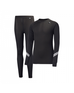 Helly Hansen Lifa Kids Base Layer Set, Black - save 35%