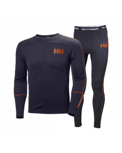 Helly Hansen Mens Lifa Active Set, Black1