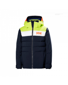 Helly Hansen Youth Cyclone Ski Jacket Navy - save 25%