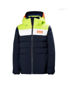 Helly Hansen Youth Cyclone Ski Jacket Navy