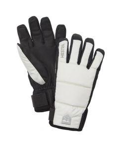 Hestra CZone Frost Adult Ski Gloves, Ivory