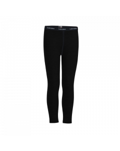 Icebreaker Kids 260 Tech Leggings - Black