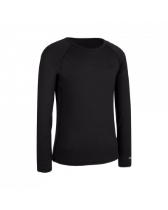 Icebreaker 200 Oasis LS Crewe Kids Thermal Black