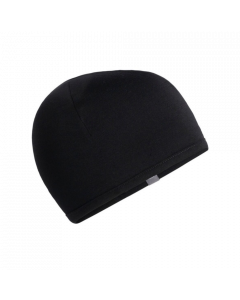 Icebreaker Kids Pocket Hat - Black/Surf