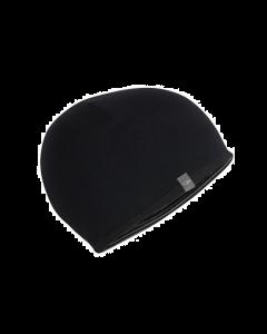 Icebreaker Kids Pocket Hat Black/Snow/Black - save 20%