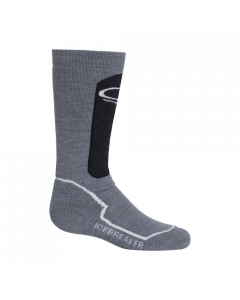 Icebreaker OTC Ski Socks, Jet/Snow - save 20%