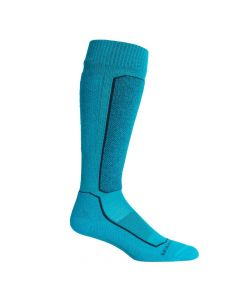 Icebreaker merino wool ski socks OTC Arctic Teal