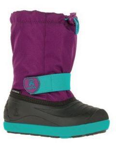 Kamik Jet Kids Snowboot - Purple Teal / Violet Sarcelle
