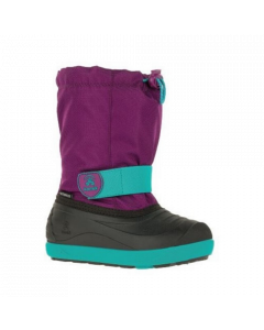 Kamik Jet Kids Snowboot - Purple Teal / Violet Sarcelle