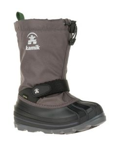 Kamik Waterbug Gore-Tex Kids Snowboot - Charcoal