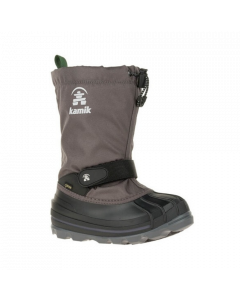 Kamik Waterbug Gore-Tex Kids Snowboot - Charcoal - save 35%