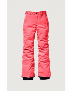 O'Neill Charm Slim Pants Neon Tangerine Pink - save 50% 15-16 years only