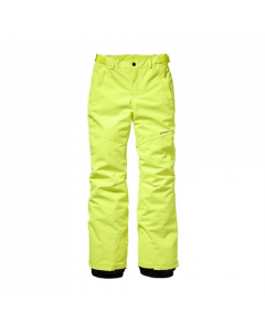 O'Neill Charm PG Ski Pants, Pyranine Yellow - save 40%