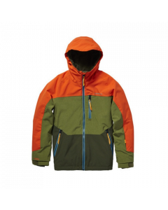 O'Neill Perform Boys Astron Jacket - Bright Orange save 20%