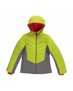 O'Neill Perform Girls Virtue Jacket - Pyranine Yellow - save 25%
