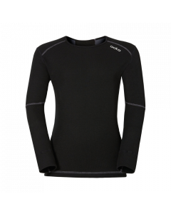Odlo Active Thermal Crew Top Kids X-Warm - Black