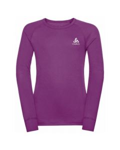Odlo Active Warm Eco Kids LS Crew - Hyacinth Violet 159229-20595