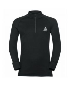 Odlo Active Warm Eco Long Sleeve 1/2 Zip Turtle Neck - Black 159249-15000