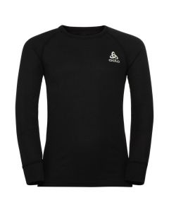 Odlo Active X-Warm Eco Kids Long Sleeve Crew - Black 159329-15000