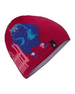 Odlo Hat Kids Mid Gage Reversible Cerise - One Size