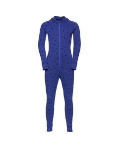 Odlo One Piece Suit Active Warm Kids Blue