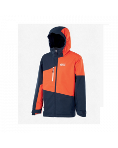 Picture Kids Milo Ski Jacket Dark Blue Orange - save 25%