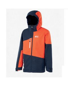 Picture Kids Milo Ski Jacket Dark Blue Orange