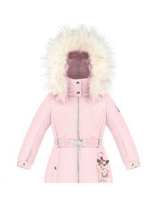 Poivre Blanc Girls Ski Jacket - Angel Pink