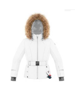 Poivre Blanc Girls Ski Jacket White Age 8-16