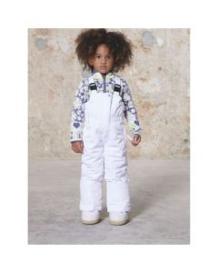 Poivre Blanc Girls Ski Pants - White