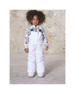 Poivre Blanc Girls Ski Pants - White
