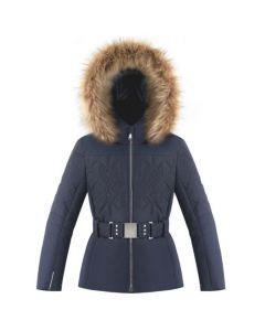 Poivre Blanc Girls Slim Fit Ski Jacket - Gothic Blue