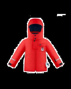 Poivre Blanc Ski Jacket - Scarlet - Save 40%