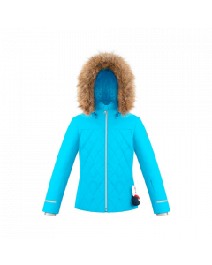 Poivre Blanc Ski Jacket aqua blue Age 7-16