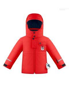 Poivre Blanc Ski Jacket - Scarlet Save 25%