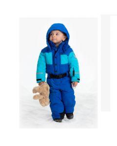 Poivre Blanc Ski Suit - Blue