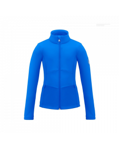 Poivre Blanc Stretch Fleece Jacket true blue