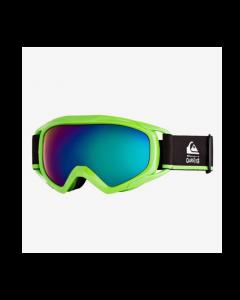 Quiksilver Eagle Ski Goggle Neon Green - Age 5-12